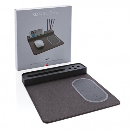 Mousepad cu incarcare wireless 5W si USB8