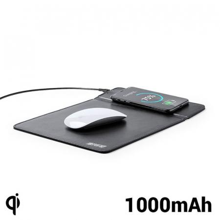Mousepad cu incarcator wireless QI, 1000 MAH1
