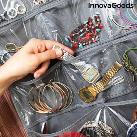 Organizator bijuterii si accesorii Umeras Bijette, 36 buzunare1