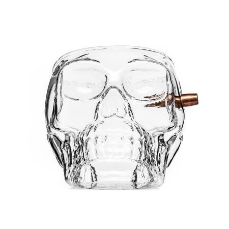 Pahar craniu cu glont2