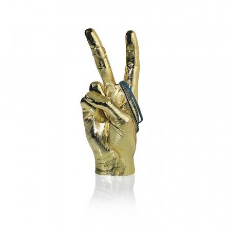Peace, suport si obiect decorativ victorios, Gold1