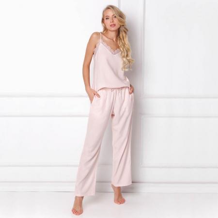 Pijamale dama Danny 2 piese, pantaloni lungi1
