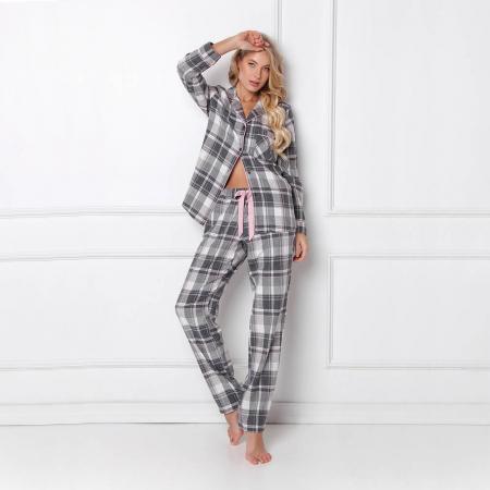Pijamale dama Marly 2 piese, pantaloni lungi, 100% bumbac2
