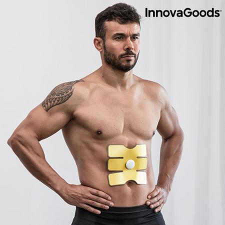 Plasture abdomen cu electrostimulare, program automat 23 minute [1]