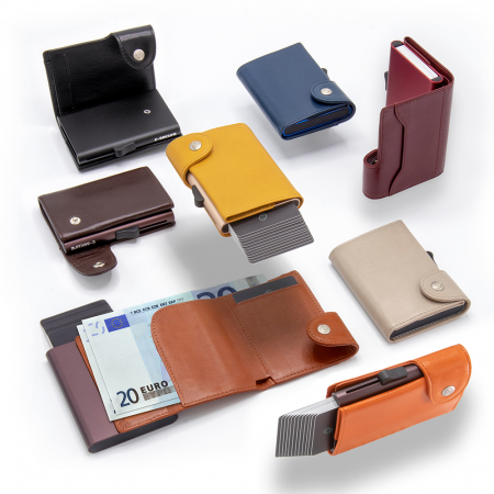 Portofel Carduri RFID XL din piele1