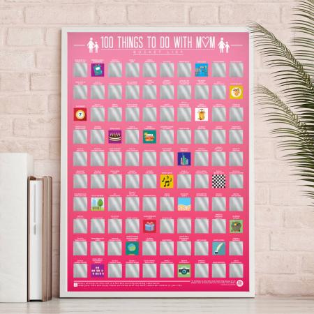 Poster razuibil 100 lucruri de facut cu mama0