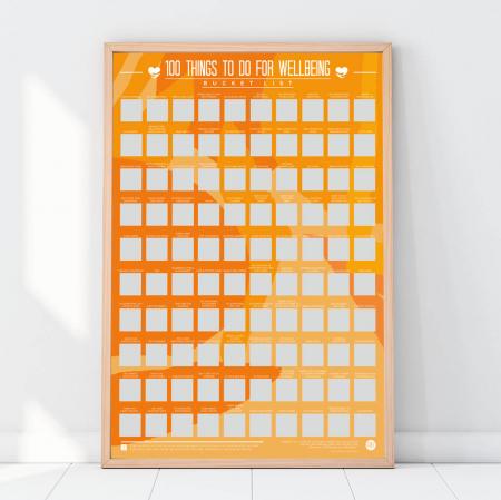 Poster razuibil 100 lucruri de Wellbeing [1]