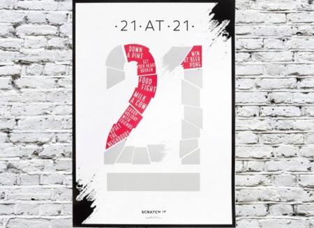 Poster razuibil 21 de ani0