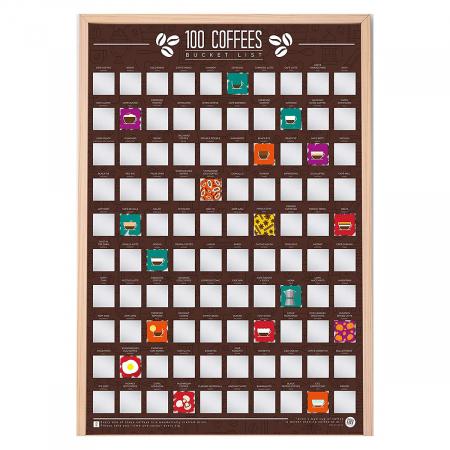 Poster razuibil Expert in Cafea, 100 provocari [3]