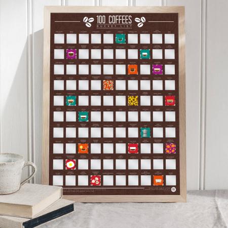Poster razuibil Expert in Cafea, 100 provocari [0]