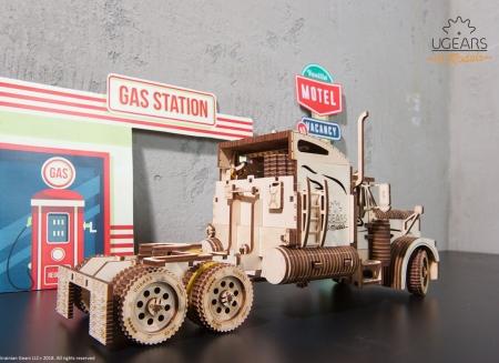 Puzzle 3D Camion VM-03 din lemn Ugears5
