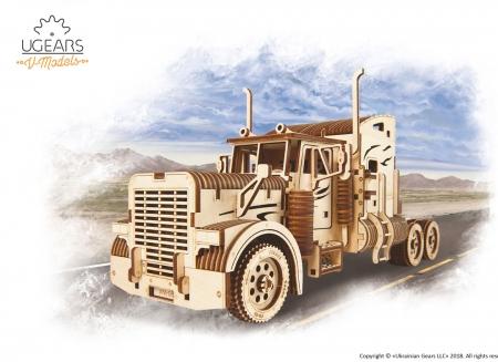 Puzzle 3D Camion VM-03 din lemn Ugears8