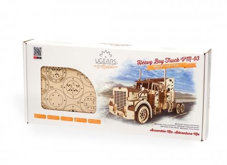Puzzle 3D Camion VM-03 din lemn Ugears18