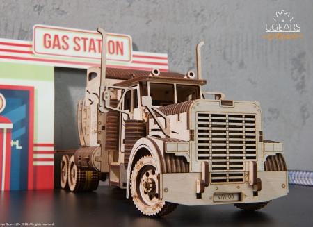 Puzzle 3D Camion VM-03 din lemn Ugears3
