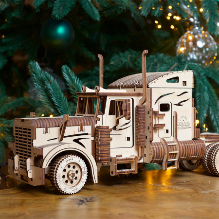 Puzzle 3D Camion VM-03 din lemn Ugears0
