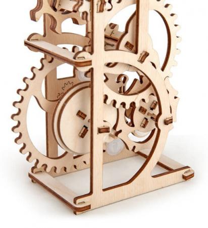 Puzzle 3D Dinamometru din Lemn Ugears7