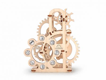 Puzzle 3D Dinamometru din Lemn Ugears5