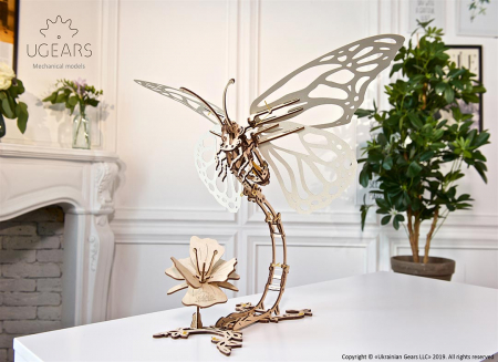 Puzzle 3D Fluture mecanic Ugears5