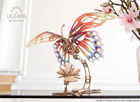 Puzzle 3D Fluture mecanic Ugears7