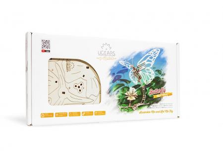Puzzle 3D Fluture mecanic Ugears12