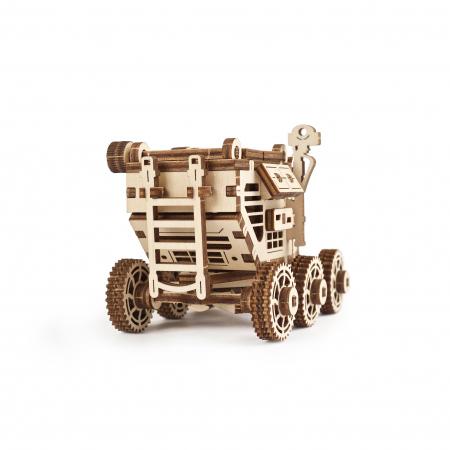 Puzzle 3D Mars Buggy din lemn Ugears3