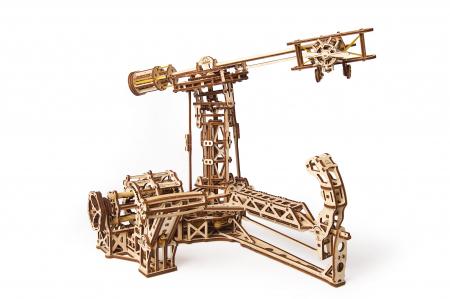 Puzzle 3D Model Aviator din lemn Ugears20