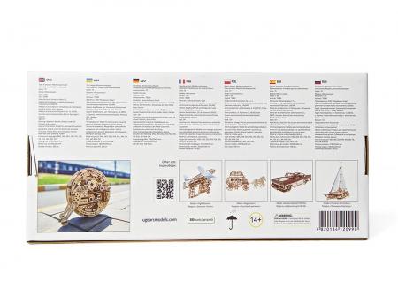 Puzzle 3D Monociclu Ugears10