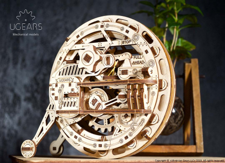 Puzzle 3D Monociclu Ugears2