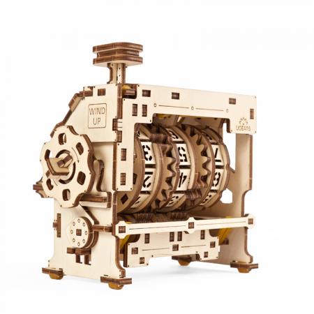 Puzzle 3D STEM Contor de parcurs din lemn Ugears2