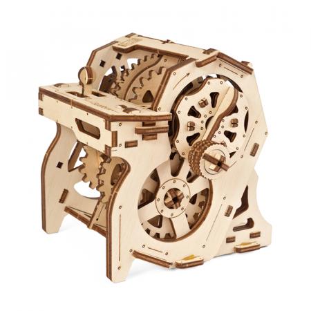 Puzzle 3D STEM Cutia de viteze din lemn Ugears2