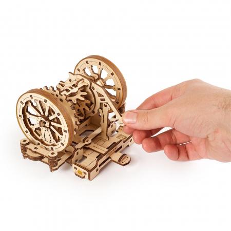 Puzzle 3D STEM Diferentialul din lemn Ugears5