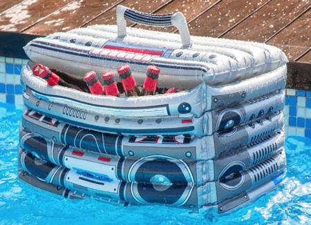 Radio Frigorific pentru piscina Retro Style0