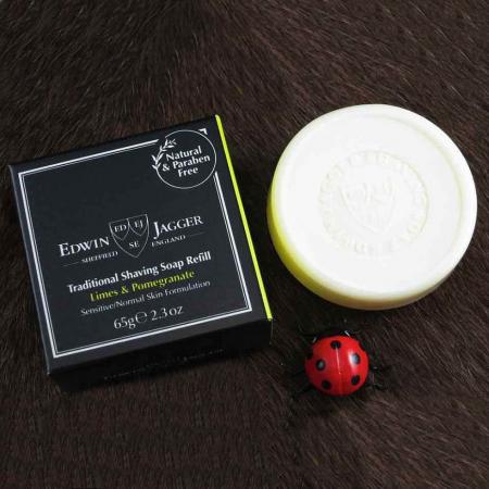 Sapun pentru barbierit Limes & Pomegranate 65G, Edwin Jagger0