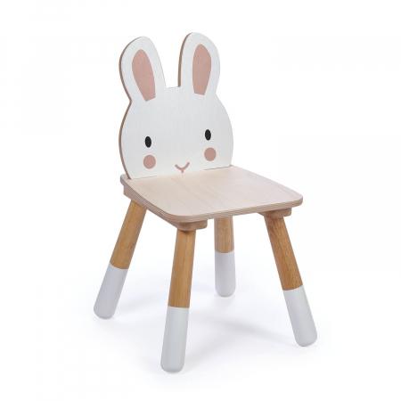 Scaunel din lemn pentru copii, Iepuras2
