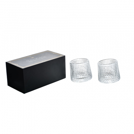 Set 2 Pahare whiskey, Deluxe Rotating Diamond [4]
