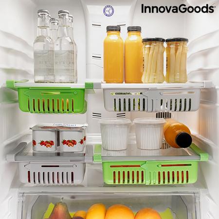 Set 2 Sertare organizatoare frigider FriCool1