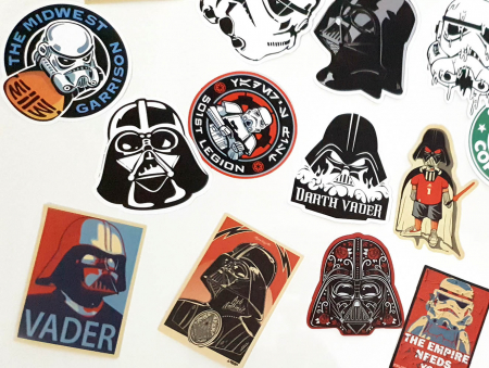 Set 25 stickere laptop Star Wars3
