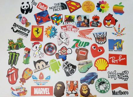 Set 50 stickere troller Be Cool!1