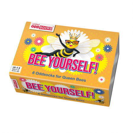 Set 6 sosete colorate Bee Yourself5