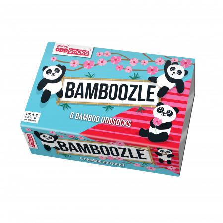 Set 6 sosete colorate Panda Bamboozle5