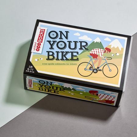 Set 6 sosete colorate pentru biciclisti3