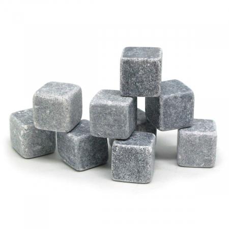Set 9 Cuburi din roca pentru whiskey2