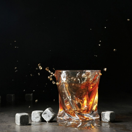 Cuburi granit pentru whiskey [2]