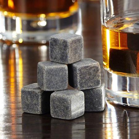 Set 9 Cuburi din roca pentru whiskey
