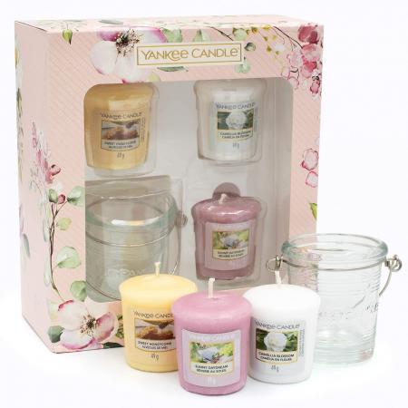 Set cadou 3 lumanari parfumate Yankee Candle Garden Hideaway3