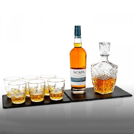 Set cadou decantor Sticla cu sase pahare Dedalo [4]