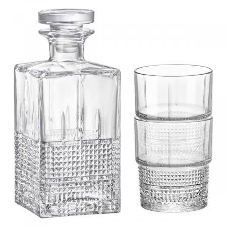 Set cadou decantor Sticla cu sase pahare Novec [2]