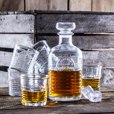 Set cadou decantor Sticla cu sase pahare Officina [0]