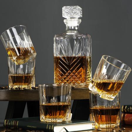 Set cadou decantor Sticla cu sase pahare Selecta [3]