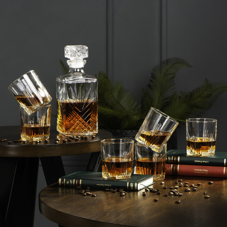 Set cadou decantor Sticla cu sase pahare Selecta [0]